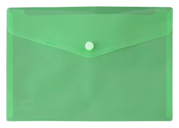 Kunststoff Dokumententasche Din A4 Druckknopf Transparent Dokumentenmappe Knopf
