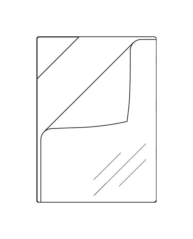 Quickload Taschen A3 Transparent Ablösbar Klebend 50 Stück