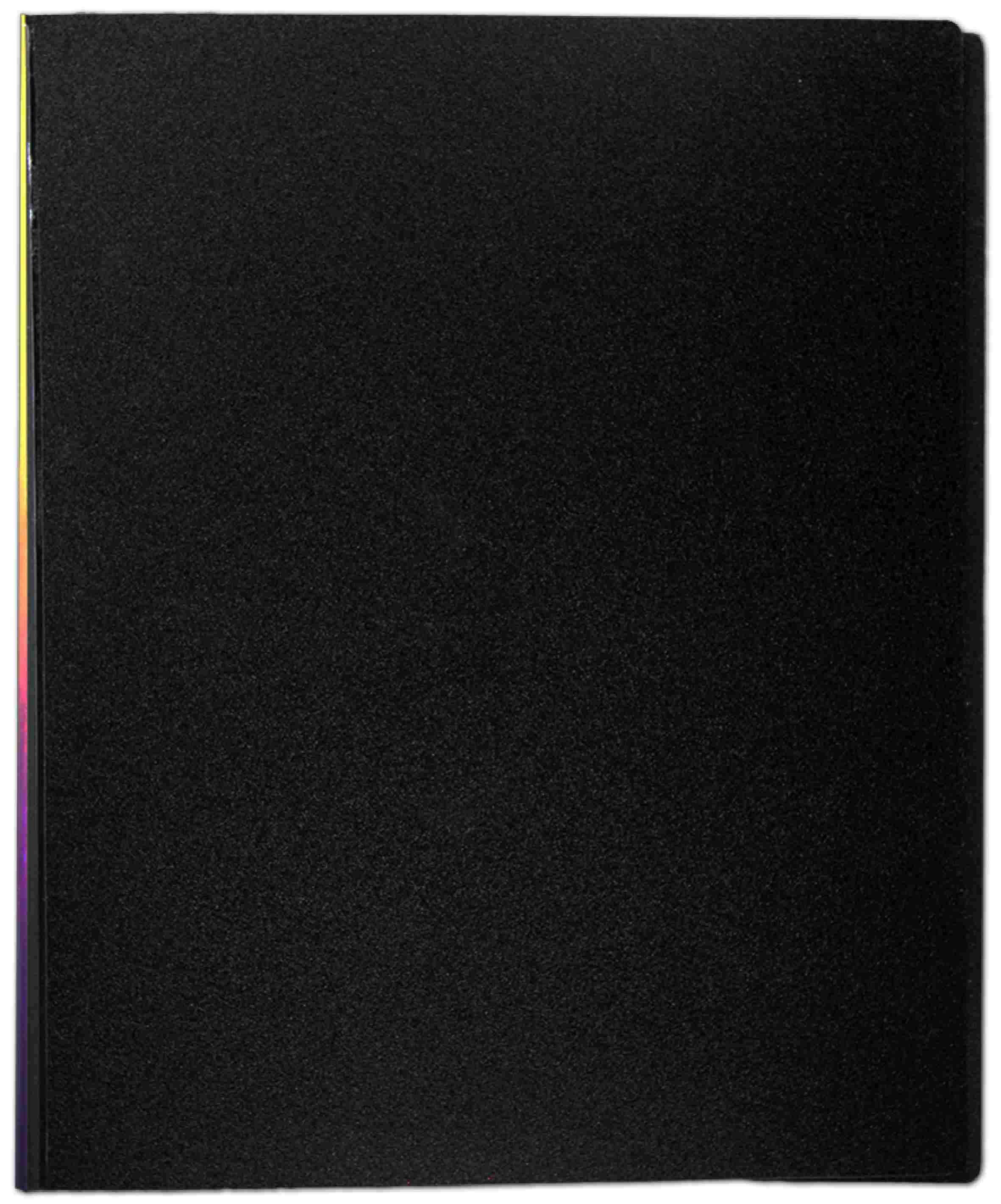 Visitenkartenbuch Flexzip A4 Schwarz Mit 10 Auswechselbaren Hüllen Für Bis Zu 400 Visitenkarten