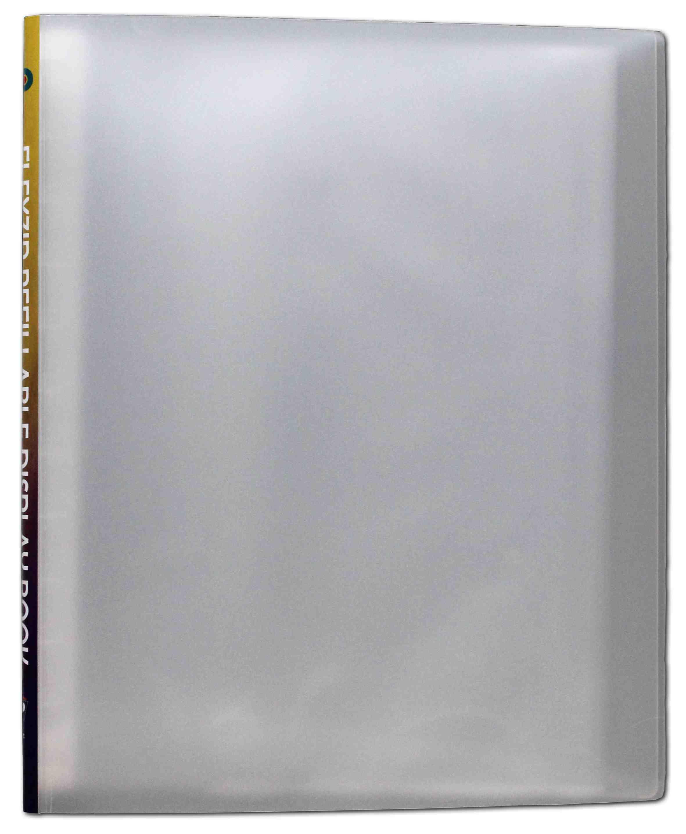 Sichtbuch Flexzip A4 Transparent Farblos Mit 10 Auswechselbaren Hüllen