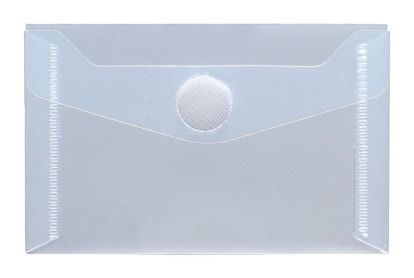 Visitenkarten Taschen Farblos Neutral 10 Stück